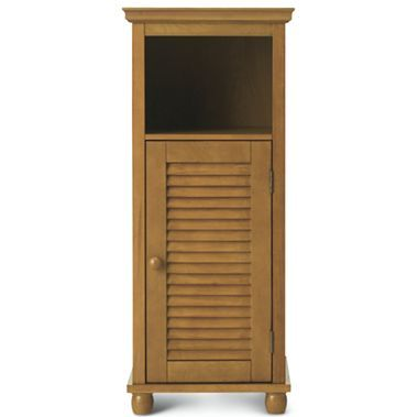 Louvered Linen Cabinet - jcpenney