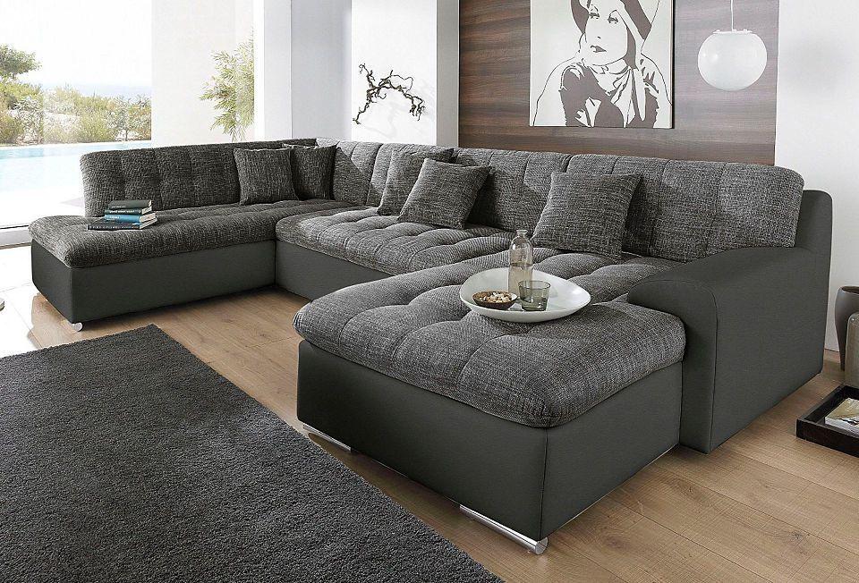 Trendmanufaktur Wohnlandschaft, wahlweise mit Bettfunktion Jetzt - big sofa oder wohnlandschaft