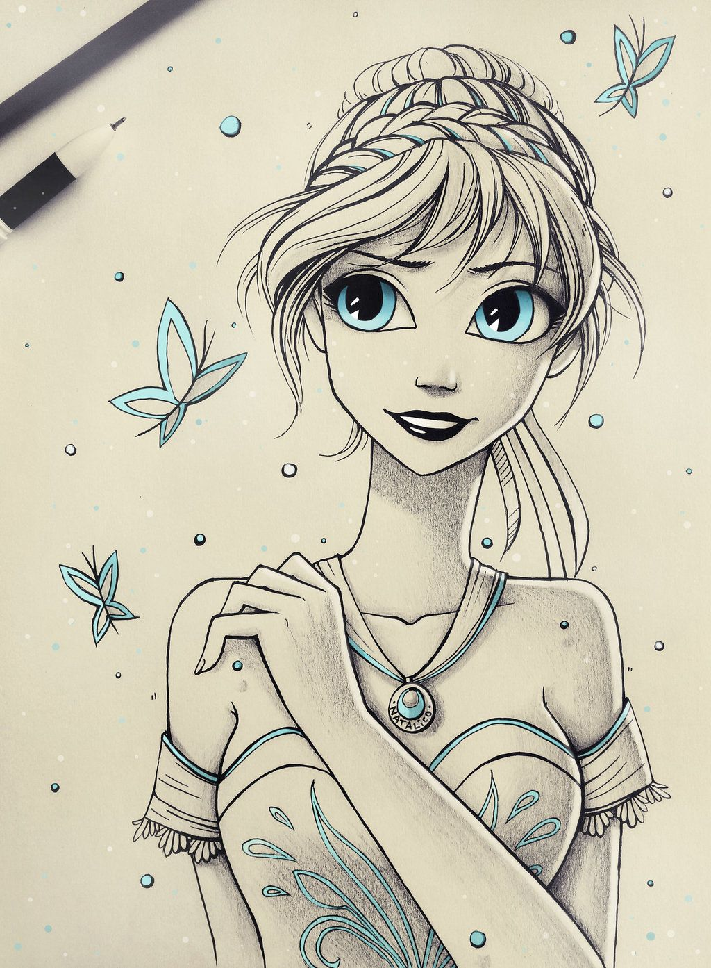 Princess anna by natalico deviantart com on deviantart