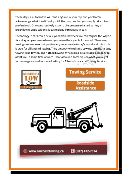 Towing Service Cost >> Alberta Low Cost Towing Provides Best Heavy Duty Towing Service Over