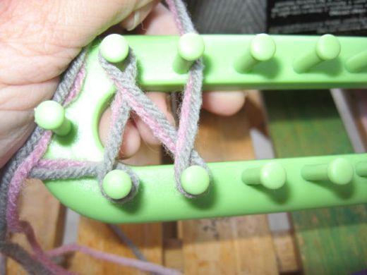 Knifty Knitter Long Loom Series Instructions Knitting Pinterest