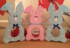 Easter bunny crafts for kids preschool and kindergarten easter