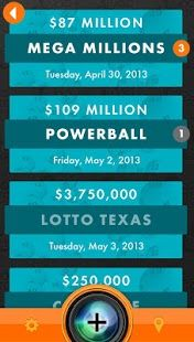 YooLotto is the new must-have app for lottery players and check your favorite jackpot results for Powerball, Megamillions, Texas Lotto Texas, Cash5, Pick3, Daily4, SuperLotto, Fantasy 5, Daily Derby, All or Nothing; currently available in Texas and California States, to be followed by other states very soon.