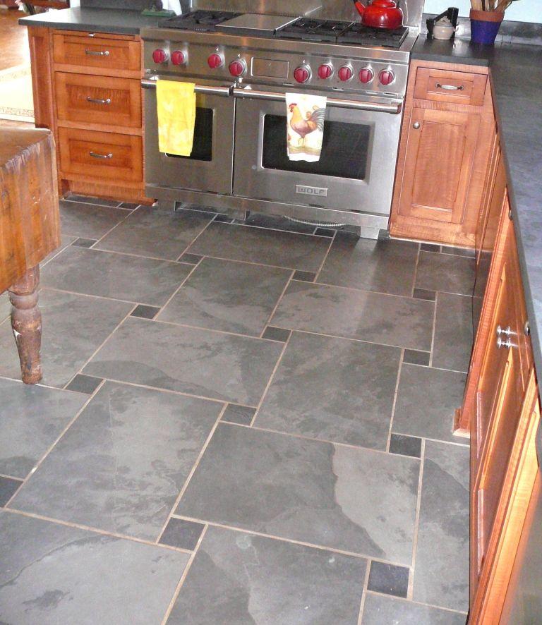 Pin by Susan Bauhof on Kitchens Slate tile floor, Slate
