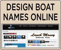 Design Boat Names Online At Signquick