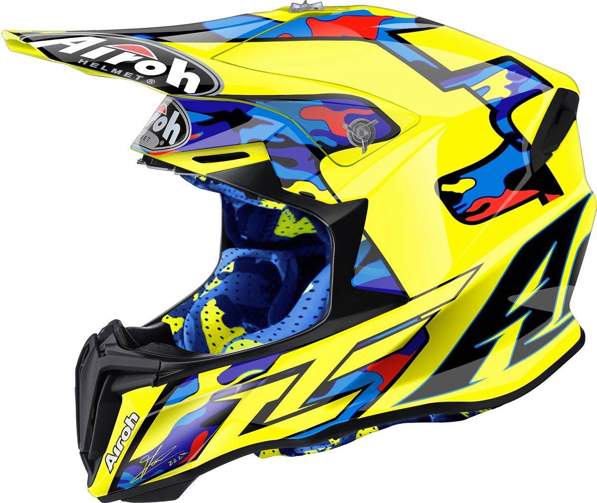 Airoh Twist Un Cross Italien à Moins De 200 Helmets Dirt Bike