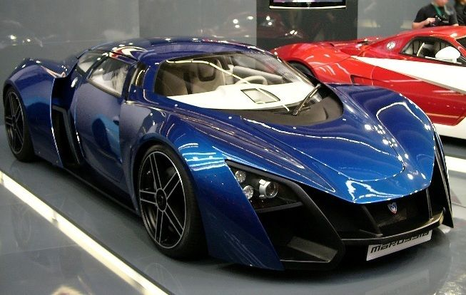 Most Beautiful Russian Sports Car Jacksons Running Robot - Most sporty cars