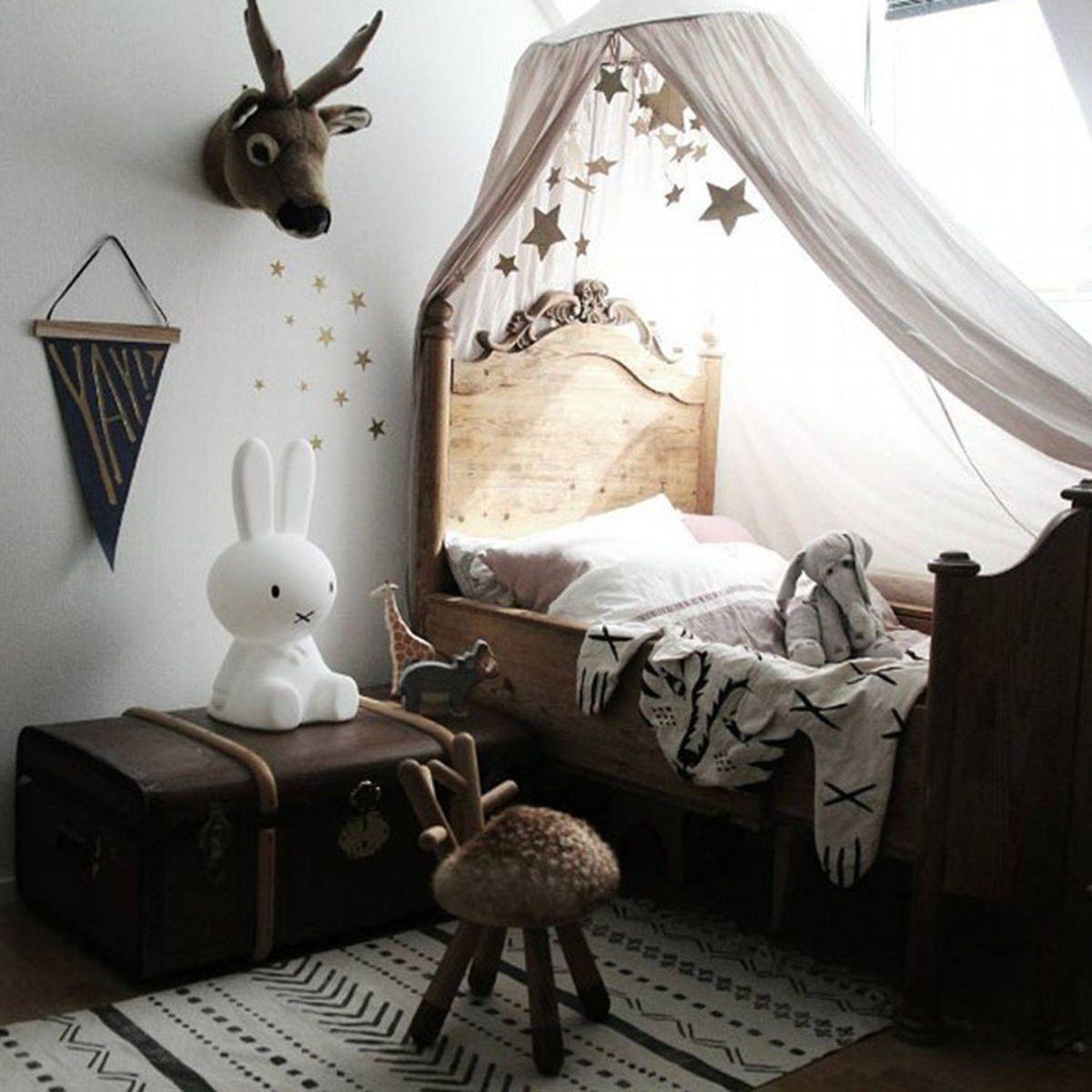 Elegant Round Cotton Bed Canopy Children's Bedroom Anti