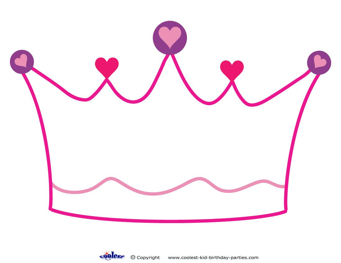Nerdy image pertaining to princess crown printable