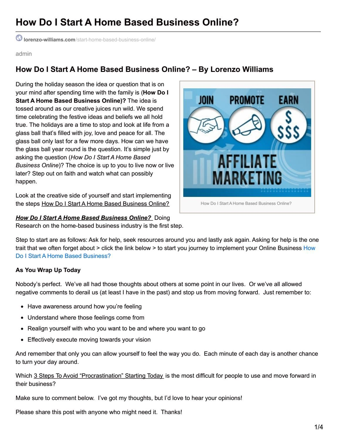 Old Fashioned How To Start A Home Based Business For Moms Images ...