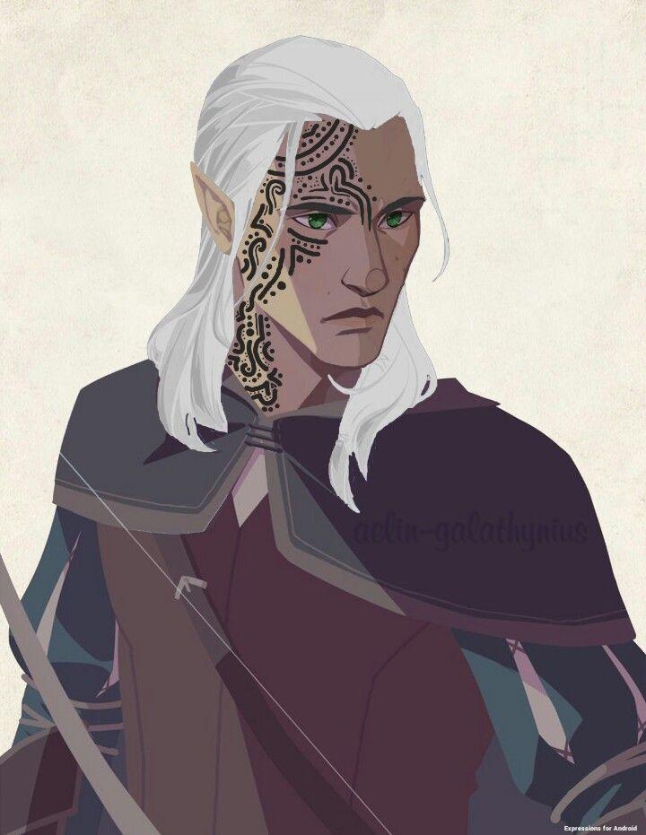 im-dressed-for-rio: aelin–galathynius: Rowan Whitethorn By me. =) sjmaas owns Rowan