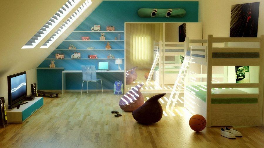 Attic Spaces   Attic bedrooms, Attic and Attic spaces