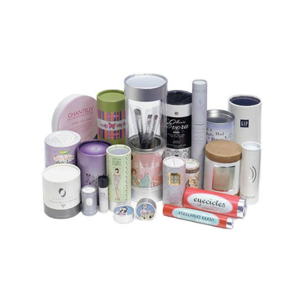 Cardboard Tube Packaging For Cosmetics   Natural