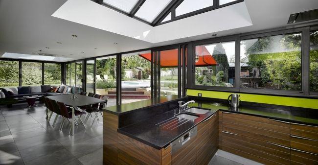 Une cuisine dans ma véranda La maison Pinterest Extensions - cuisine dans veranda photo