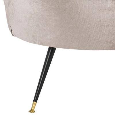 Arlette Mid Century Barrel Chair Hazelwood Velvet