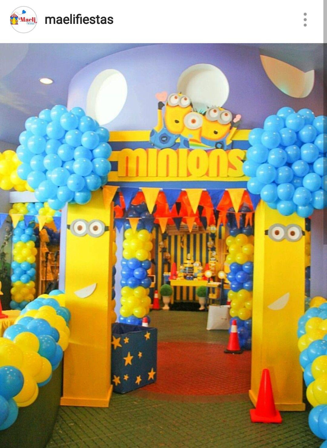 Minion Theme Birthday Party Themes Minions