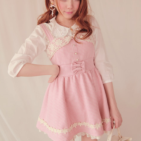 Images of Cute Pink Dress - Reikian