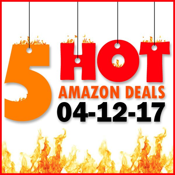 ►► 5 HOT AMAZON DEALS – 4/12/17 ►► #Amazon, #Bargain, #Clearance, #Closeout, #DailyDeal, #Dealoftheday, #Deals, #Discounts, #Frugal, #FrugalFind, #HotBuys, #LowestPrice, #Sale ►► Freebie Depot