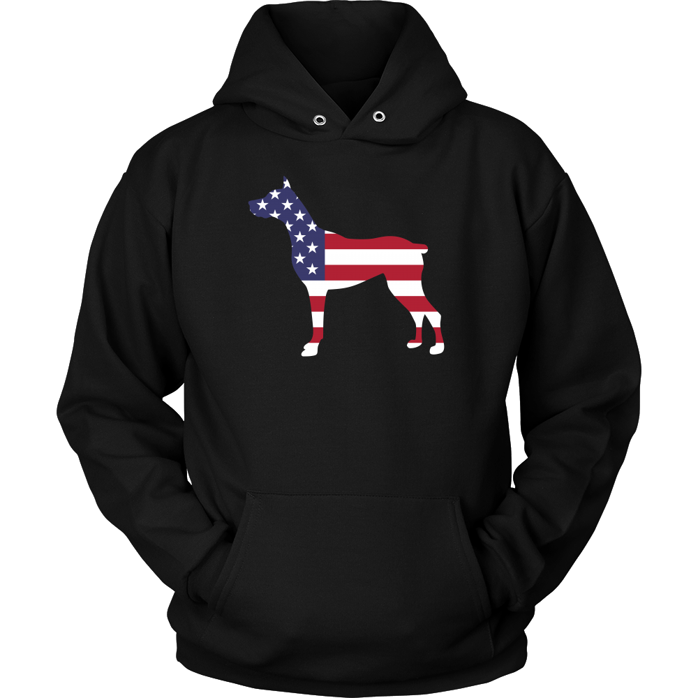 Now available on our store: Doberman Pinscher... Check it out now! http://greatfamilystore.com/products/doberman-pinscher-american-flag-t-shirt?utm_campaign=social_autopilot&utm_source=pin&utm_medium=pin
