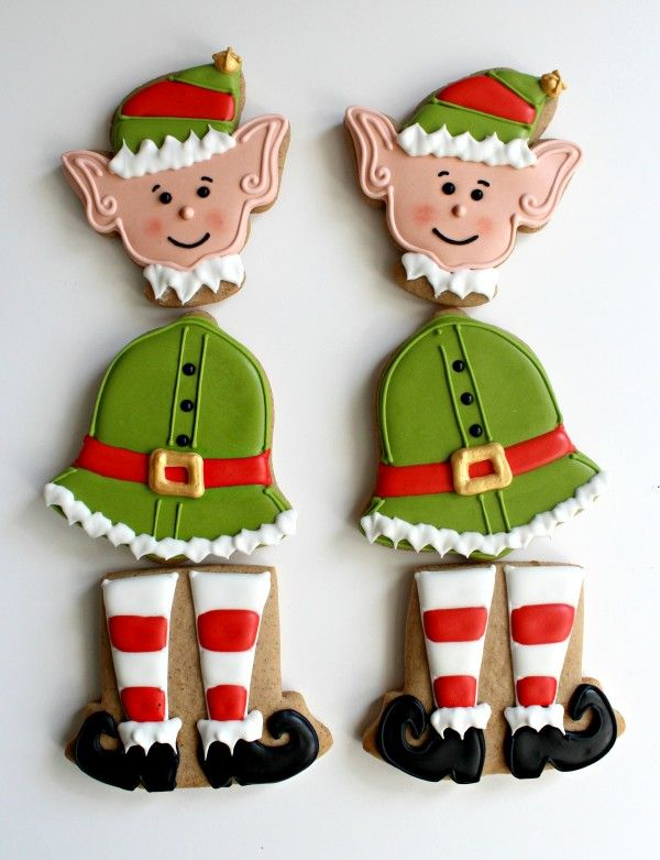 Dancing Elf Cookies....<3