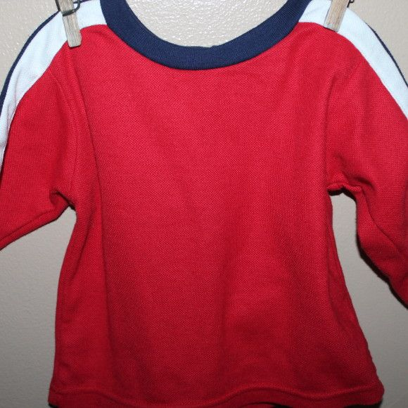 Athletic shirt, 6-12 months