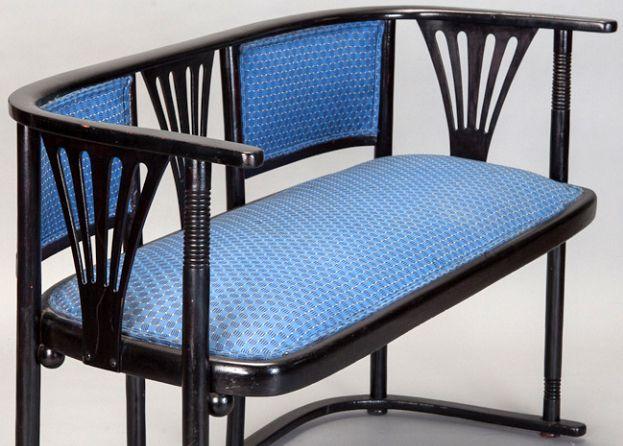 Sofa - Josef Hoffmann - Vers 1910