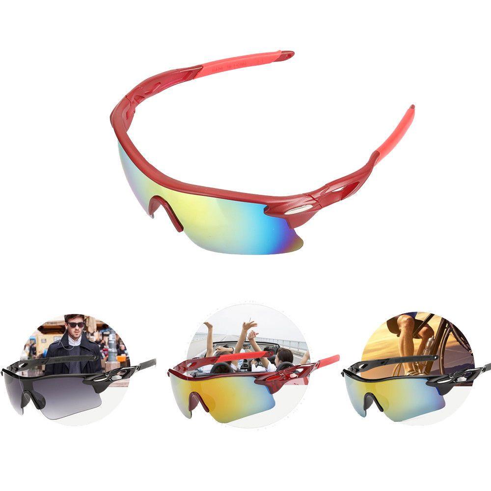 721592d8f8 Cycling Sunglasses UV400 Outdoor Sports Bicycle Bike Eye Shades Unisex Eye  Wear