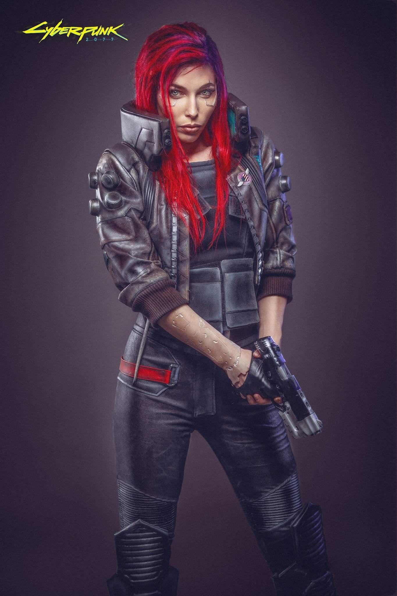 Cyberpunk 2077 Character Design