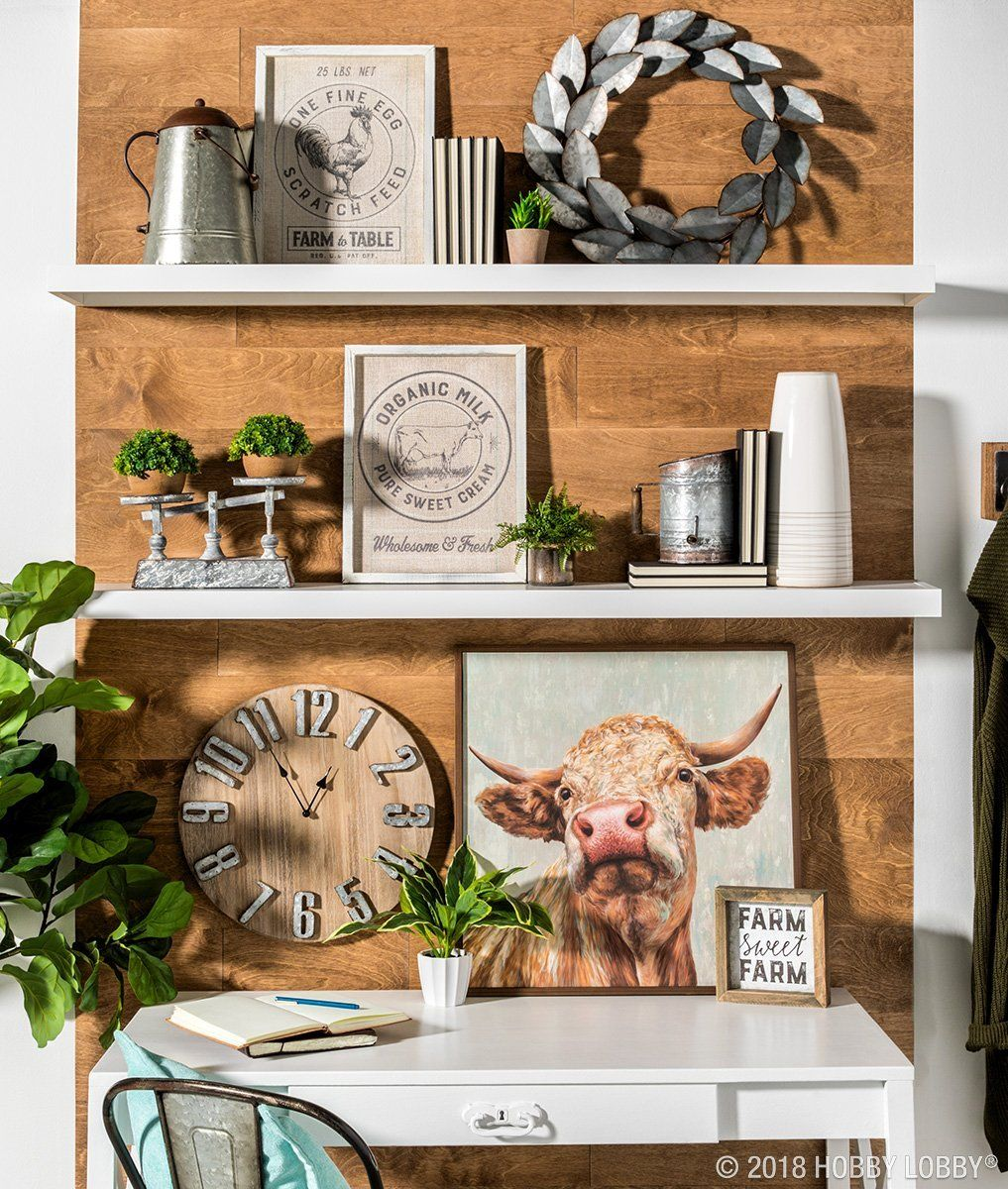 Wall Decor And More: Create A Space You Wouldn't Mind Working In With On-trend