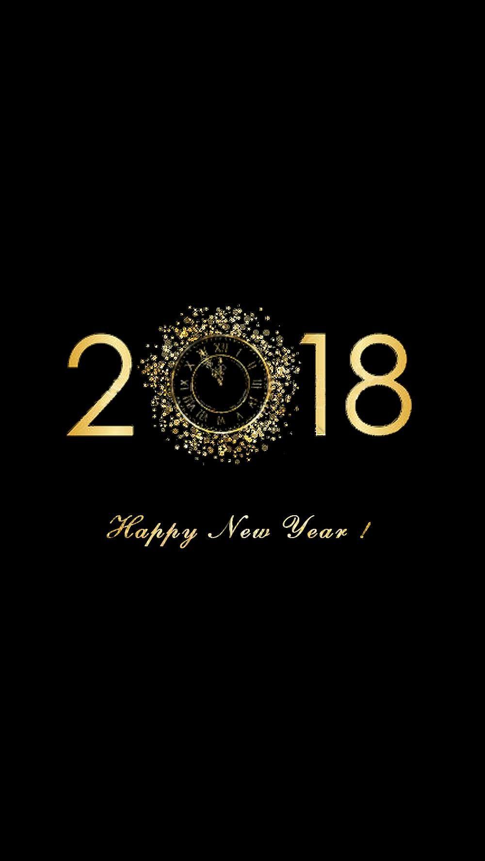 Ma création pour 2018 | Feliz Año Nuevo | Pinterest | Happy new year ...