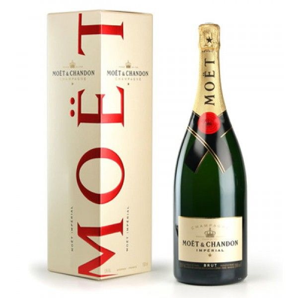 Moet & Chandon Brut Imperial Champagne.If you're not sure which champagne to give, Moet & Chandon Brut Imperial is an excellent choice that tends to appeal to nearly everyone.  spiritedgifts.com