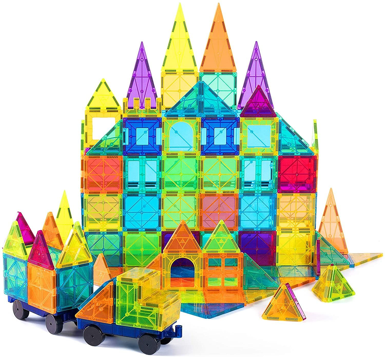 Price 49 99 Top Cossy Kids Magnet Toys Magnet Building Tiles 120 Pcs 3d In 2020 Educational Toys For Kids Magnetic Toys Kids Toys