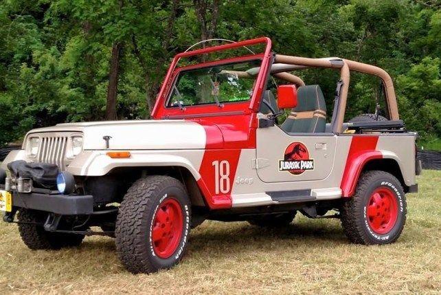 Hilton Head Going Hollywood For Festival Concours Jurassic Park Jeep Jurassic Park Car Jurassic Park