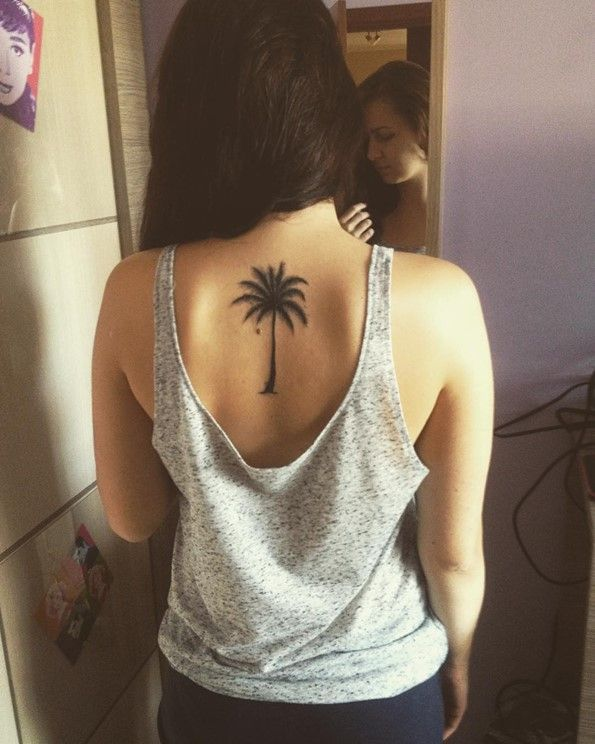 612ae486b 45 Insanely Gorgeous Tree Tattoos on Back   Tattoo ideas   Back ...