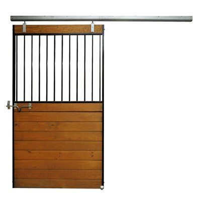 Country Manufacturing Cm8184 Horse Stall Door With Sliding Door