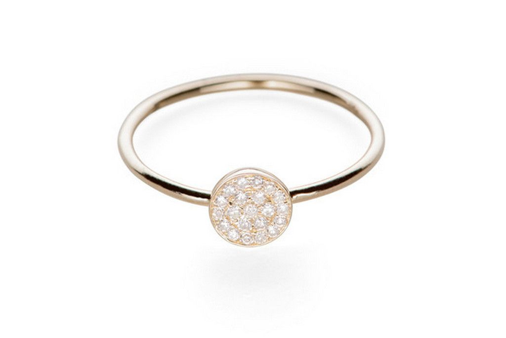 EF Collection - Diamond Disc Stack Ring 450usd