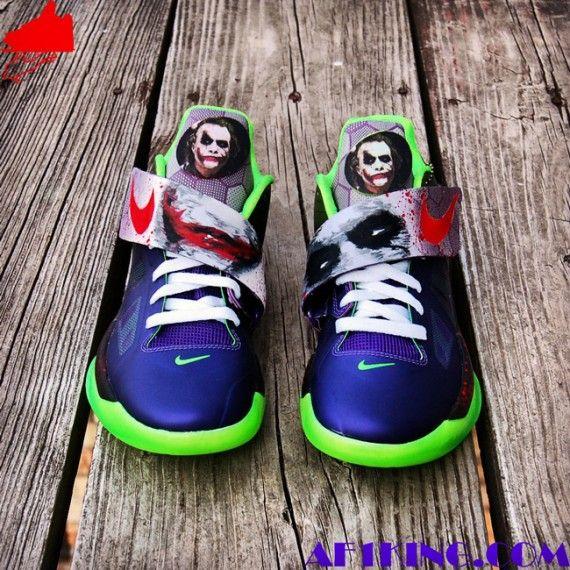 "newest 2f0c0 afdcc Nike KD IV ""Joker"" Customs by GourmetKickz"