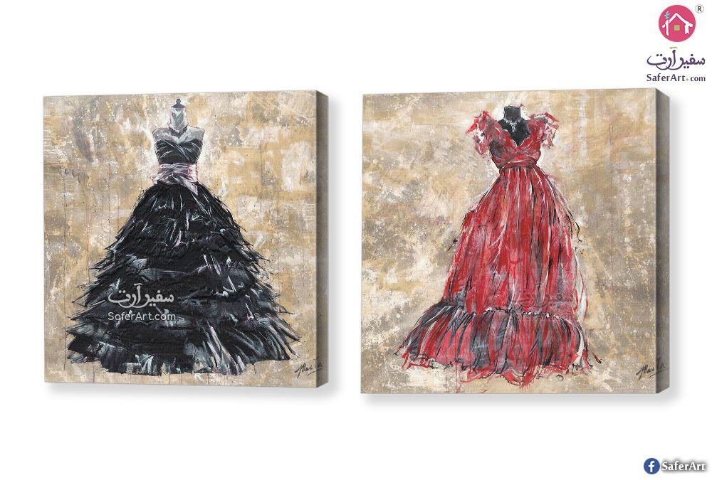 لوحات أزياء بنات سفير ارت للديكور In 2020 Fashion Wall Art Wall Art Art