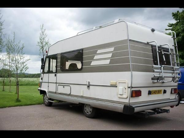 1990 hymer b544 fiat diesel in loughborough auto trader. Black Bedroom Furniture Sets. Home Design Ideas