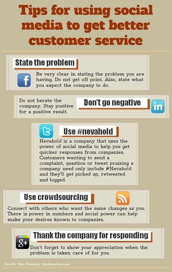 Tips for Using Social Media to Get Better Customer Service