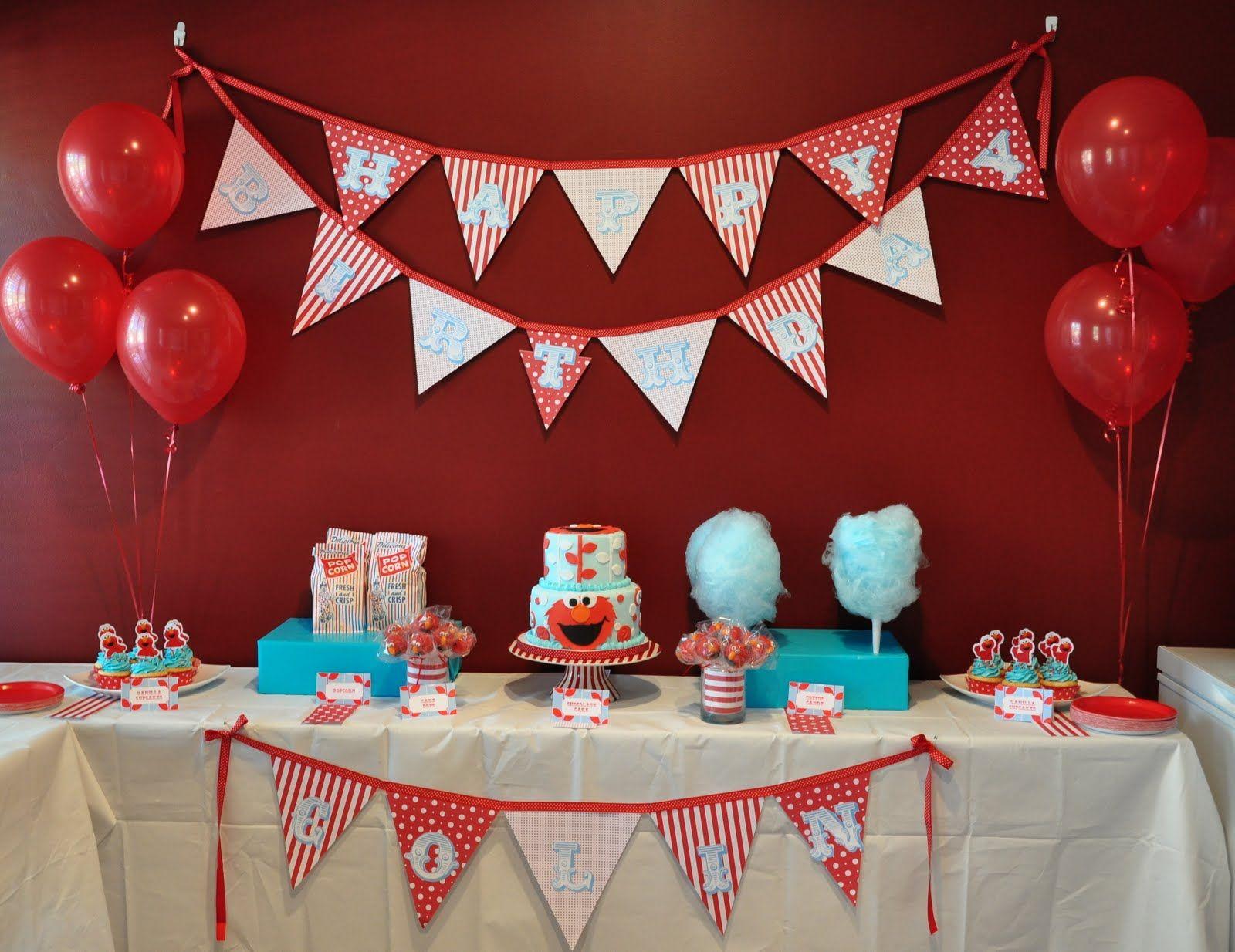 Google uk themes - Carnival Elmo Birthday Party Ideas