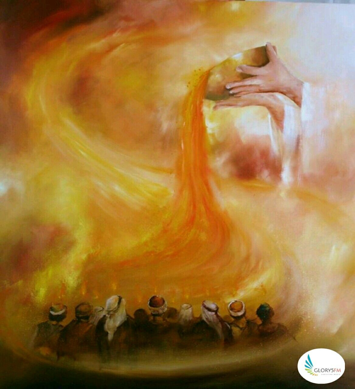 """Pentecost """"Come Holy Spirit"""" (With images)   Prophetic art worship ..."""