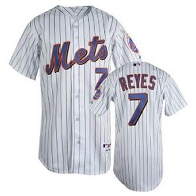 factory authentic b35a2 d2d52 Jose Reyes White Pinstripe Jersey $18.99 This jersey belongs ...