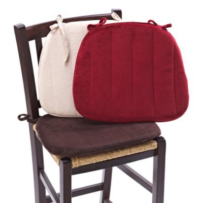 Memory Foam Chair Cushion Bedbathandbeyond Com Instead Of A Seat Cover In The Car Folding Chair Covers Chair Pads Chair Cushions