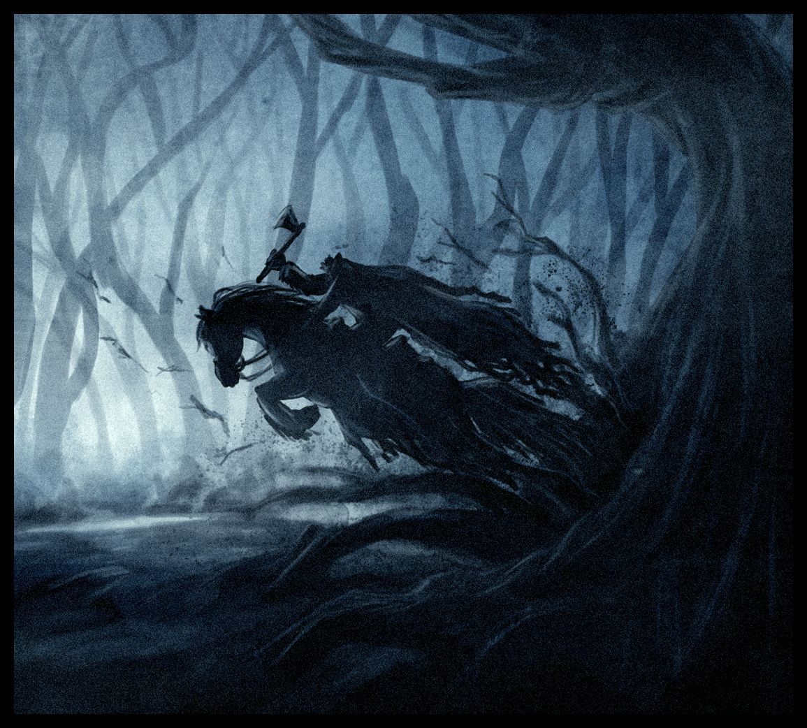 Headless Horse Man Headless Horseman Sleepy Hollow Sleepy