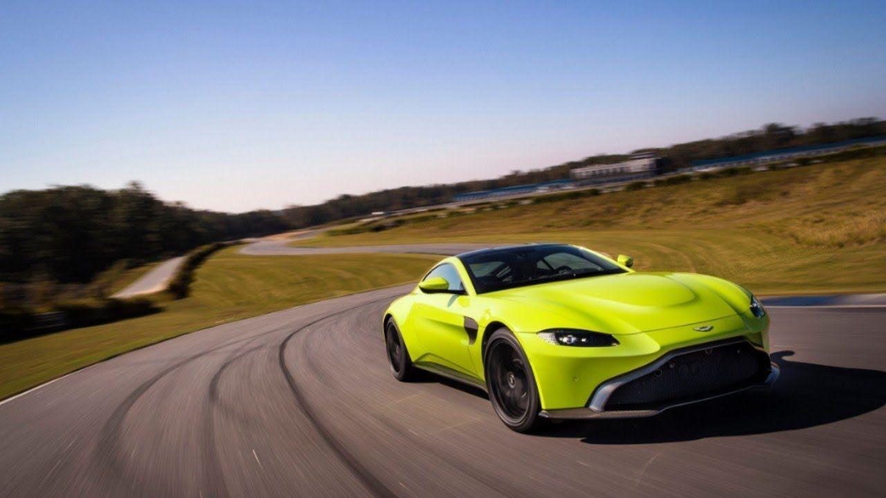 2019 Aston Martin Vantage Engine On The Spot Pinterest Aston