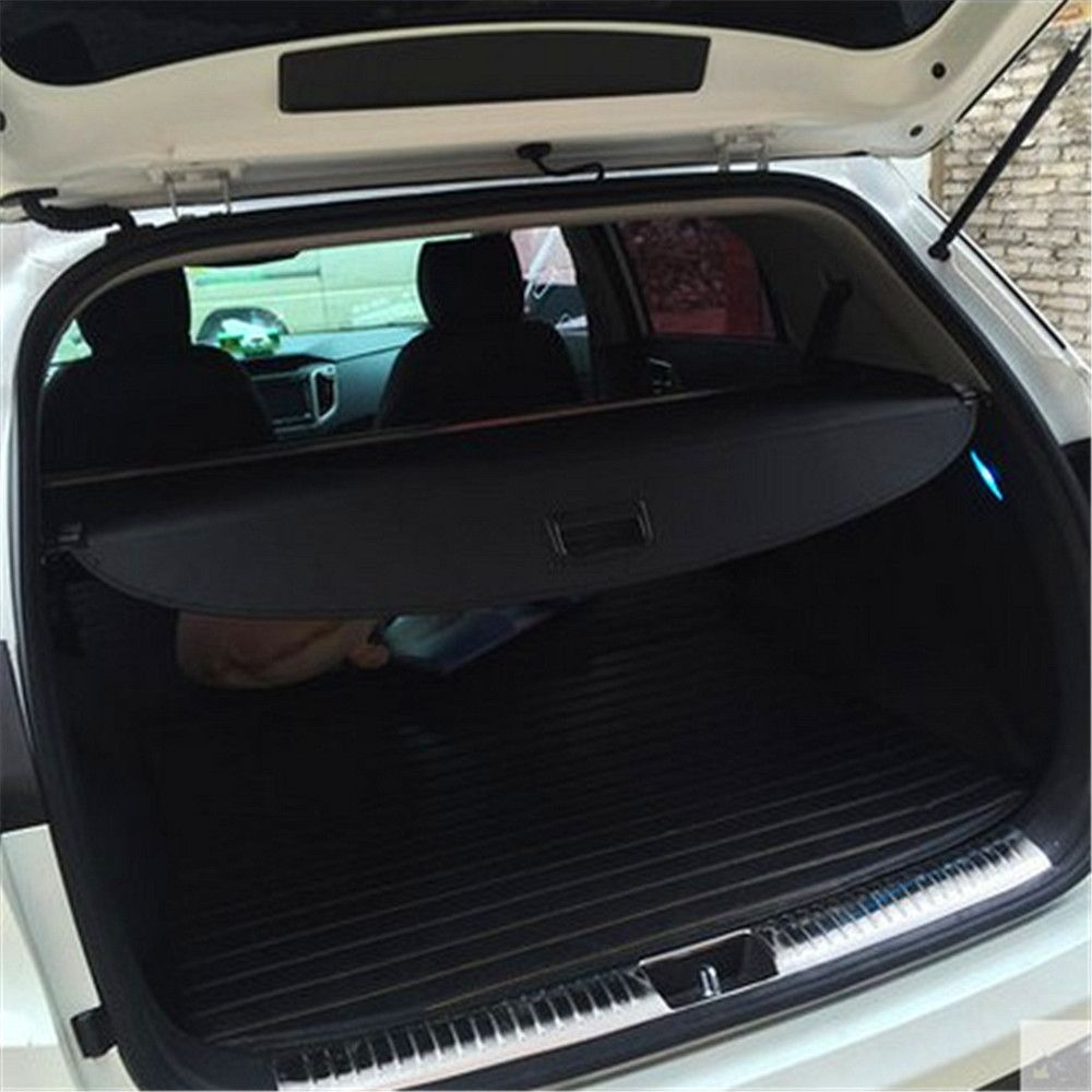 1 Pcs For Hyundai Creta Ix25 Canvas Trunk Boot Cargo Cover