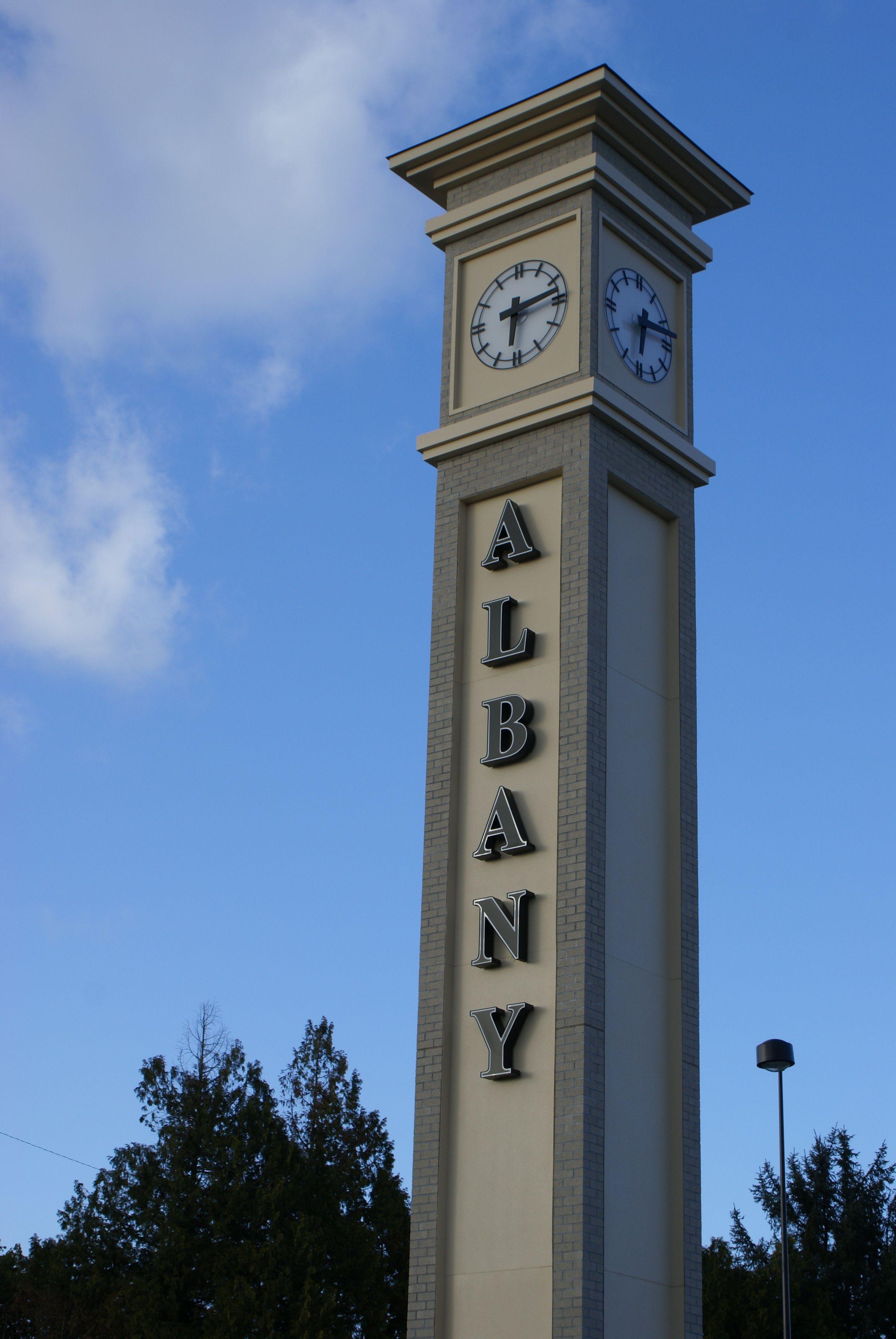 Albany oregons beautiful historic amtrak station with
