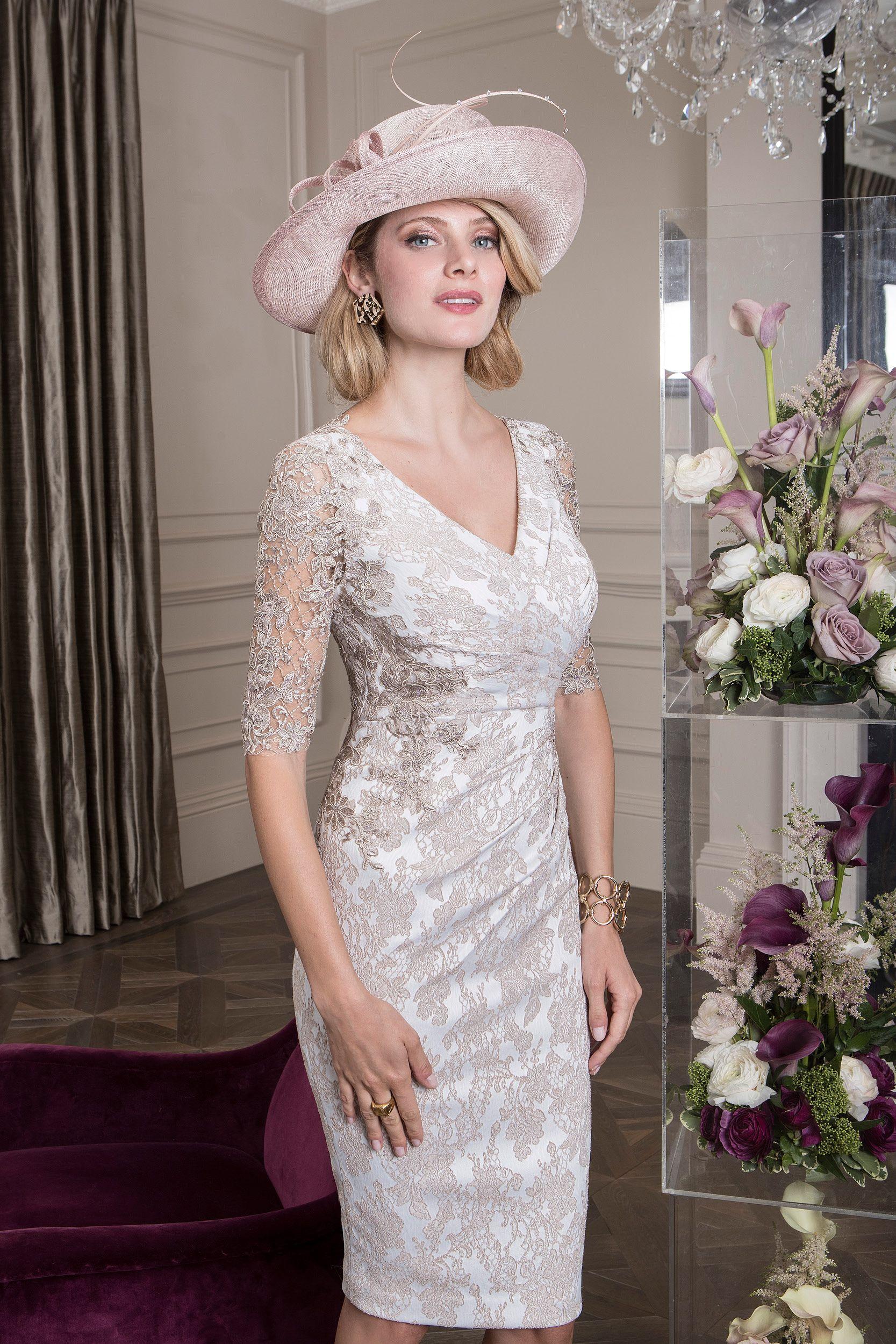 26430 John Charles Dresses Mother Of The Bride Dresses Floral Print Dress