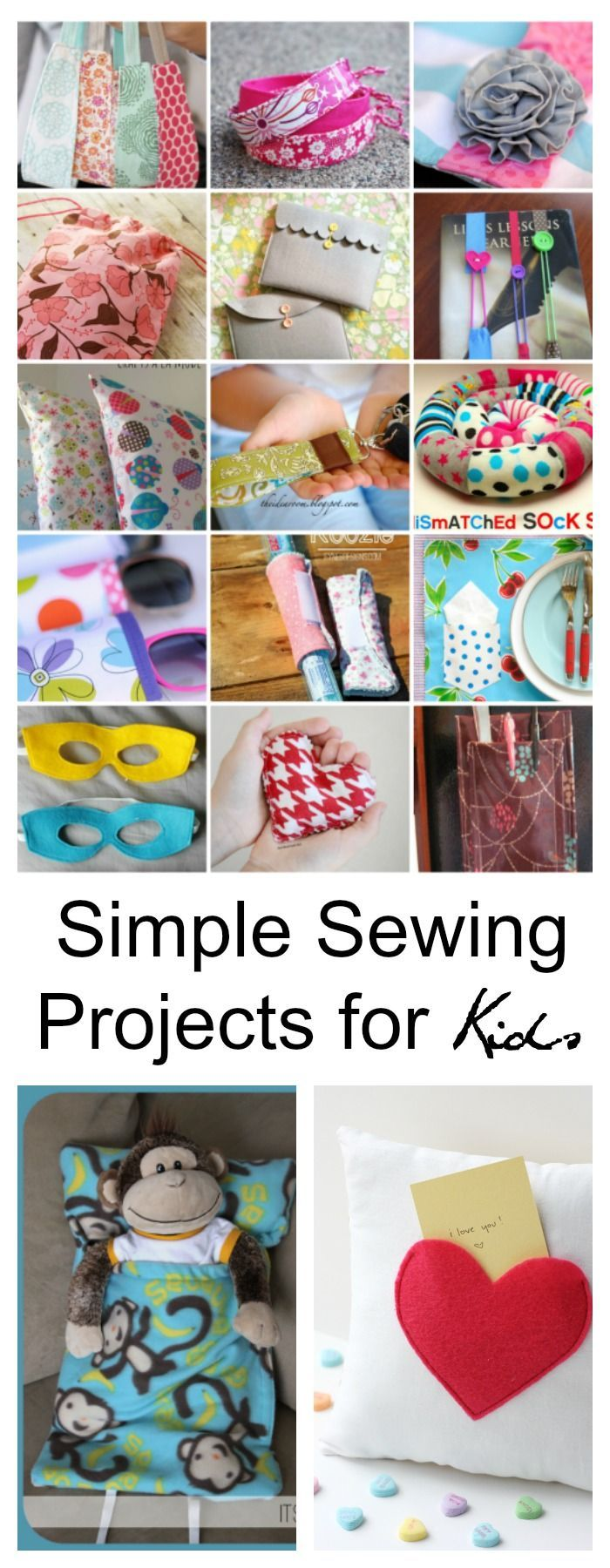 Sewing Projects for Kids Sewing | Crafts | Simple Sewing Projects for Kids | Are your kids wanting to learn how to sew? Sewing is a very useful  skill that can be used throughout your life.Communication skill  Communication skill or communication skills may refer to: